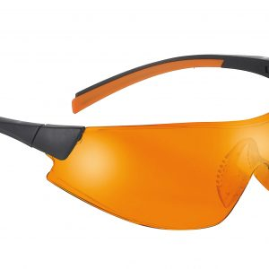 Safety Glasses 546 blk/org Frame Orange Lens