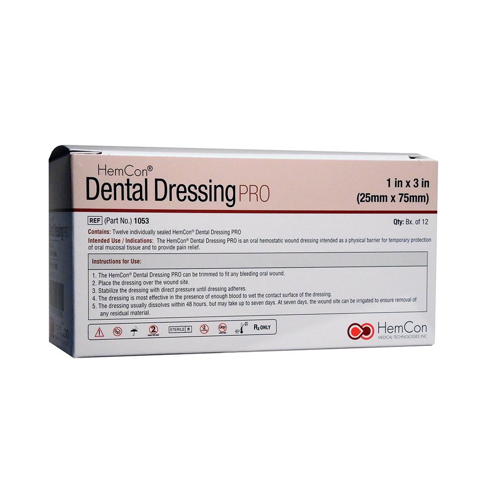 Traitement Anti Humidite Chambre : Dental Dressing 25x75mm 12pk  Optident