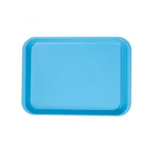 B-Lok Flat Tray Vibrant Blue - Optident Ltd