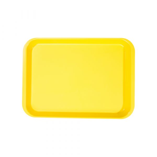B-Lok Flat Tray Vibrant Yellow - Optident Ltd