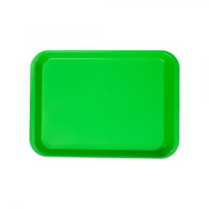 B-Lok Flat Tray Vibrant Green - Optident Ltd