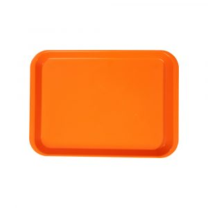 B-Lok Flat Tray Vibrant Orange - Optident Ltd