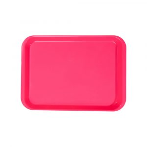 B-Lok Flat Tray Vibrant Pink - Optident Ltd