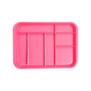 B-Lok Divided Tray Vibrant Pink - Optident Ltd