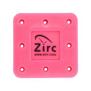 Bur-Block 8 Hole Vibrant Pink - Optident Ltd