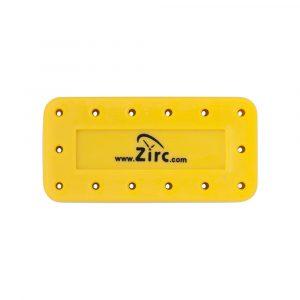 Bur-Block 14 Hole Vibrant Yellow - Optident Ltd