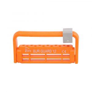 Steri-Bur Guard 12-Hole Vibrant Orange - Optident Ltd