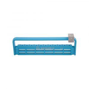 Steri-Bur Guard 22-Hole Vibrant Blue - Optident Ltd