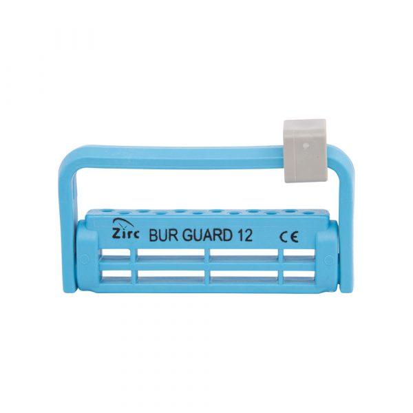 Steri-Bur Guard 12-Hole Vibrant Blue - Optident Ltd