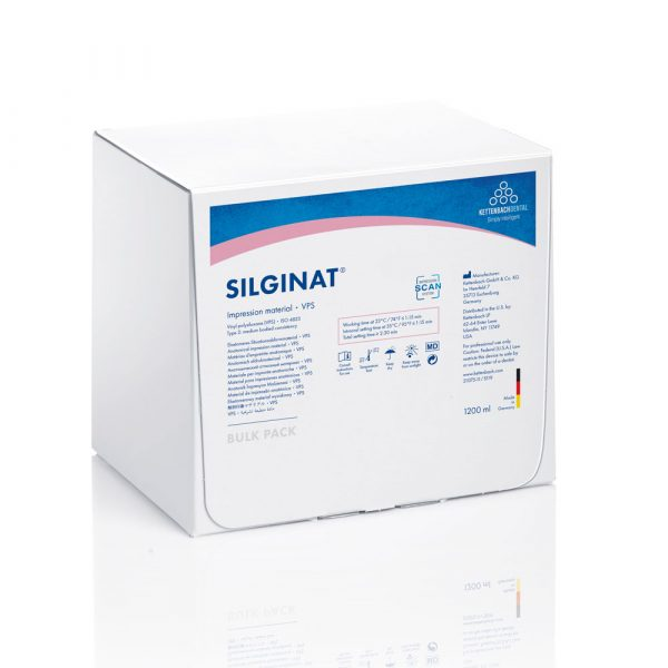Silginat Cartridge Refill 50ml 6pk - Optident Ltd