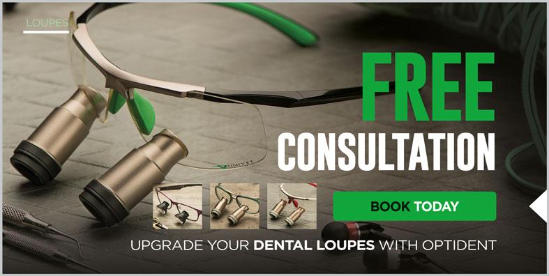Optident Dental Loupes Web Banner