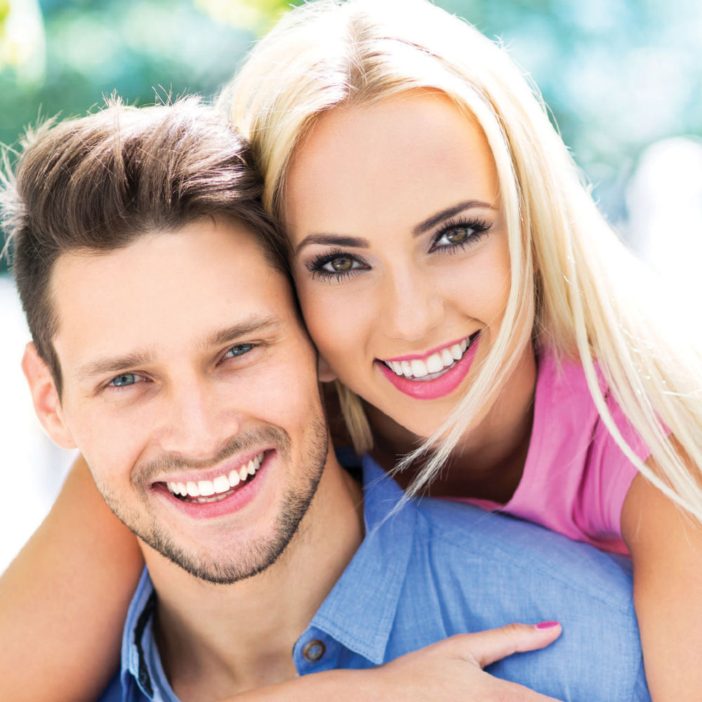 Tooth Whitening Couple