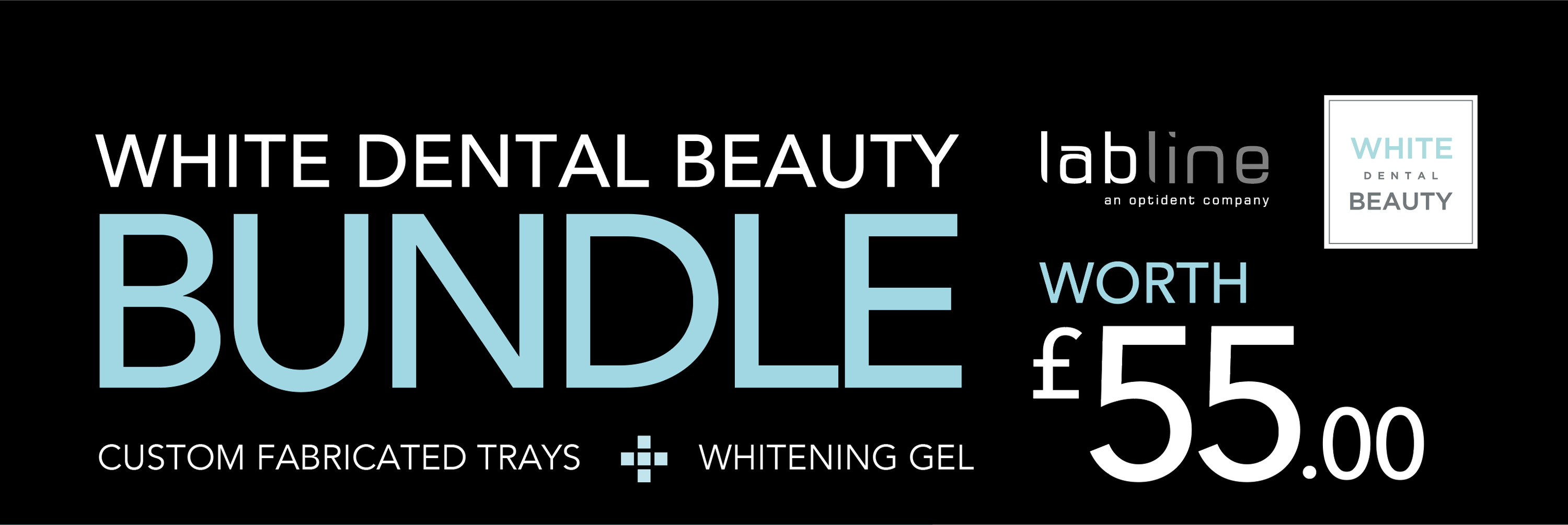 White Dental Beauty Bundle Page Header