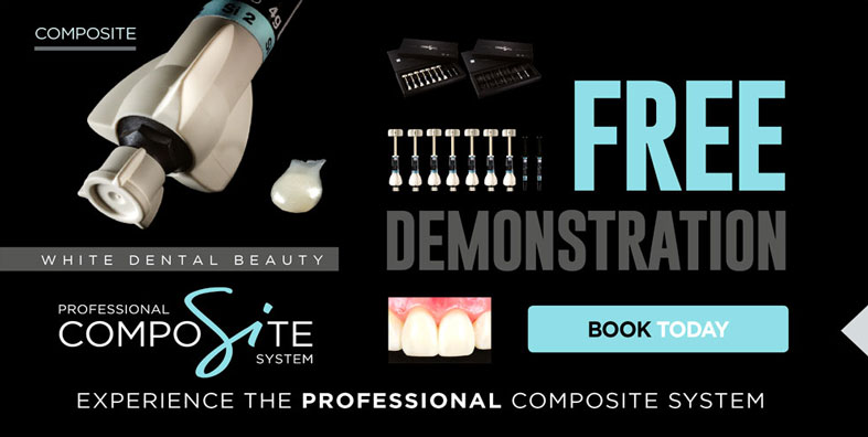 White Dental Beauty CompoSite - Book your Free Demonstration