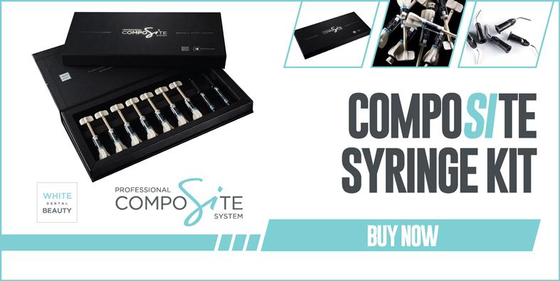 White Dental Beauty CompoSite Syring Kit