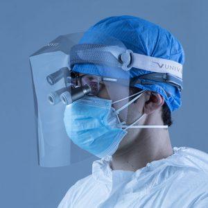 Mod. 701 Overloupes Protective Visor - Optident Ltd