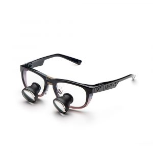 Galilean Loupes with Cool Ruby Frame - Optident Ltd
