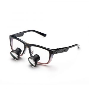 Galilean Loupes with Look Ruby Frame - Optident Ltd