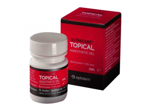 Ultracare Topical Anaesthetic Gel 30ml Tub - Optident