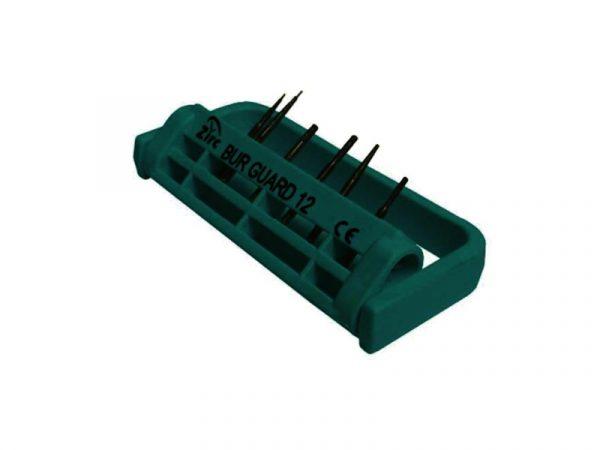 Steri-Bur Guard 12-Hole Vibrant Green - Optident Ltd