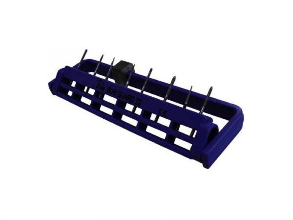 Steri-Bur Guard 22-Hole Vibrant Purple - Optident Ltd