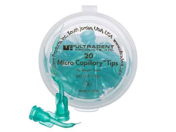 Green Micro Capillary Tips - Optident Ltd