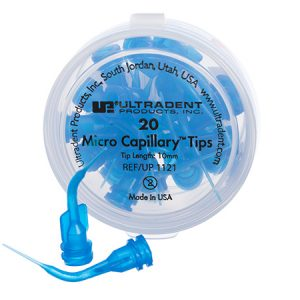 Blue Micro Capillary Tips - Optident Ltd