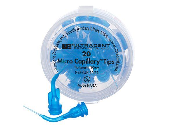 Blue Micro Capillary Tips - Optident Ltd