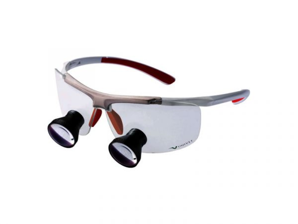 Quick Loupe Techne Red 35cm Small - Optident Ltd