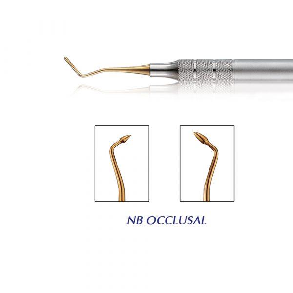 NB Sculptor Composite Instrument Occlusal - Optident Ltd