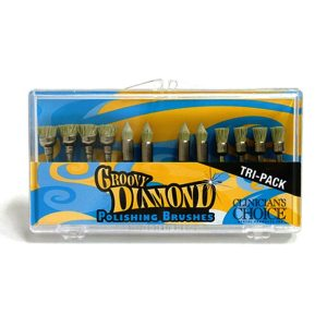 Groovy Diamond Polishing Brush Set - Optident Ltd