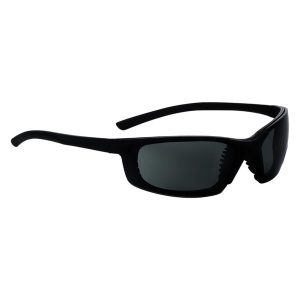 549 Safety Glasses Black Frame G15 Polar Lens - Optident Ltd