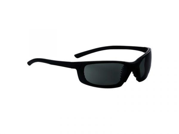 549 Safety Glasses Black Frame G15 Polar Lens - Optident Ltd