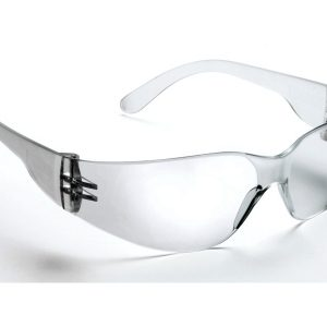 568 Safety Glasses Clear Frame Clear Lens - Optident Ltd