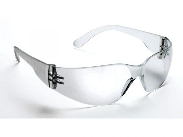 568 Safety Glasses Clear Frame Clear Lens - Optident Ltd
