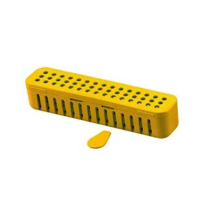 Compact Steri-Container Vibrant Yellow - Optident Ltd