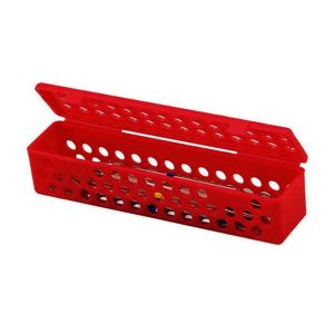 Steri-Container Jewel Red - Optident Ltd