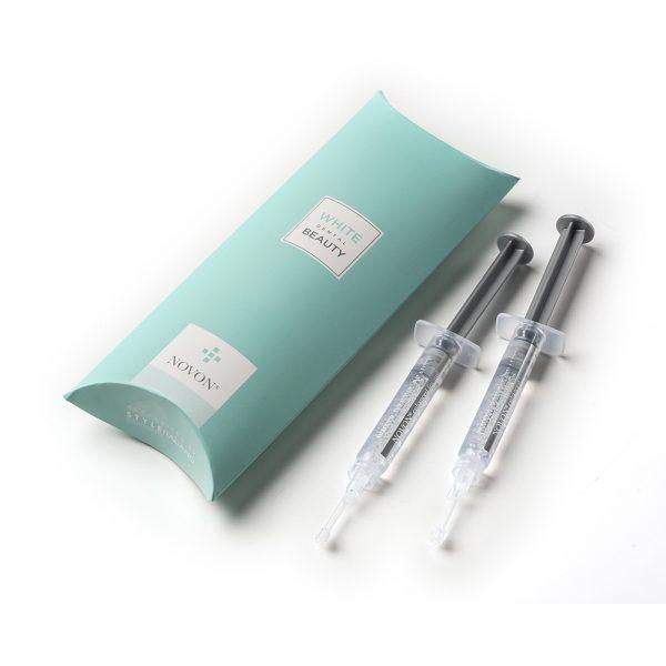White Dental Beauty 10% 2 x 3ML Teeth Whitening Top Up Kit - Optident Ltd