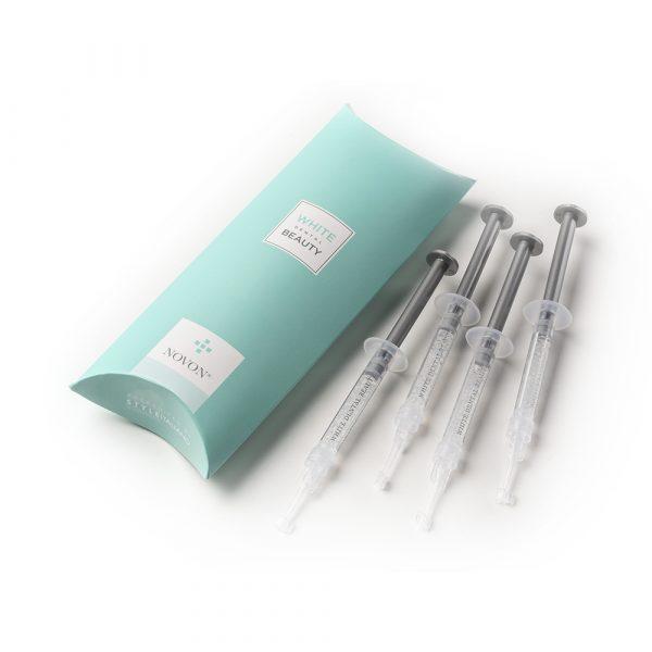 White Dental Beauty 6% 4 x 1.2ML Teeth Whitening Top Up Kit - Optident Ltd