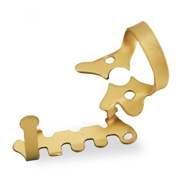 Haller Clamp 2AUR Gold = Optident Ltd