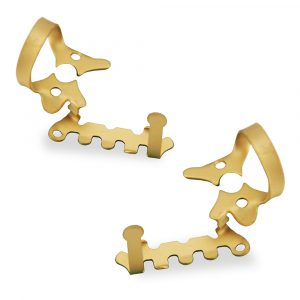 Haller Clamp Set 2AUR/2AUL Gold - Optident Ltd