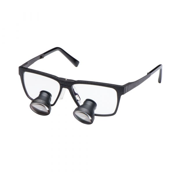 Galilean Loupes One Black Edition Frame - Optident Ltd