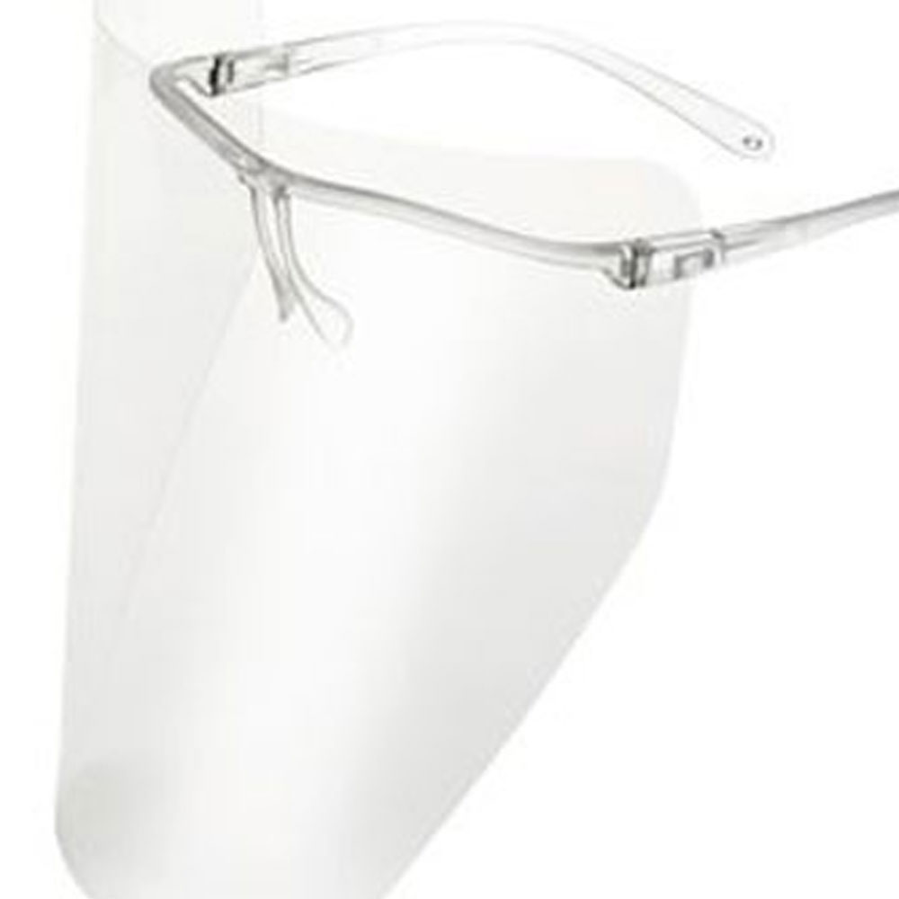 Full Face Shield 711 Clear Frame Optident